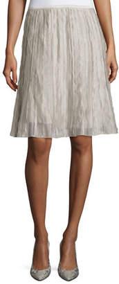 Nic+Zoe Fluttery Batiste Flirt Skirt, Plus Size