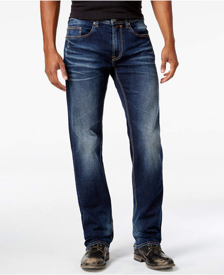 Buffalo David Bitton Men's Driven-X Relaxed Straight Fit Stretch Jeans