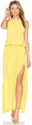 RAMY BROOK Delaney Maxi in Yellow $425 thestylecure.com