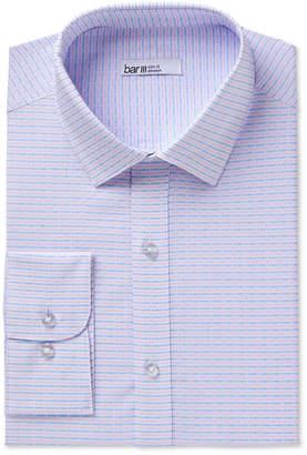Bar III Men Slim-Fit Stretch Easy-Care Assorted Printed Dress Shirt