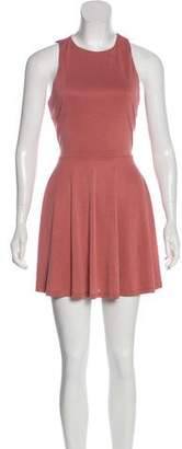 Lovers + Friends Open Back Sleeveless Dress