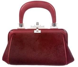 Roberta Di Camerino Ponyhair Frame Bag