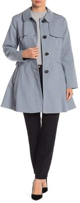 Kate Spade Fit & Flare Trench Coat