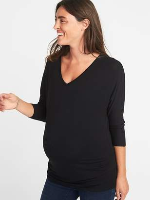 Old Navy Maternity Dolman-Sleeve Inverted V-Neck Top