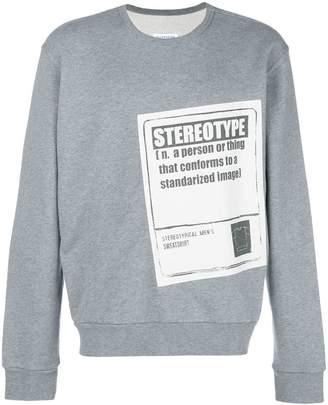 Maison Margiela Stereotype sweatshirt