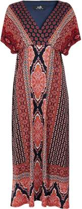 WallisWallis Navy Paisley Print Maxi Dress