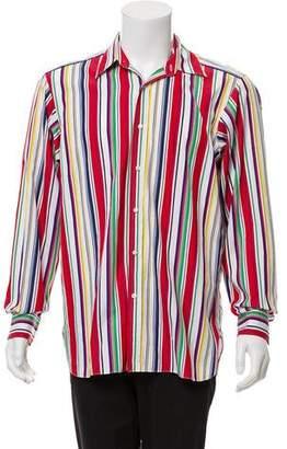 Ralph Lauren Purple Label Striped Dress Shirt
