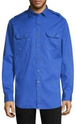 Polo Ralph Lauren Rover Military Cotton Button-Down Shirt