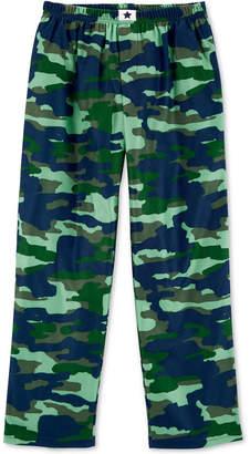 Carter's Big Boys Camouflage Fleece Pajama Pants