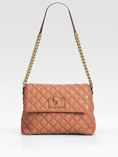 Marc Jacobs Quilting The XL Single Leather Bag