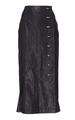 Rejina Pyo Tyler Button Pencil Skirt