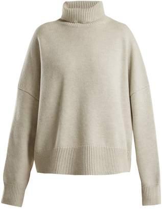 Nili Lotan Oversized roll-neck wool-cashmere sweater