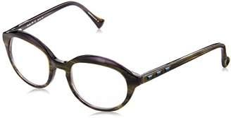 Vera Wang Women's Beryllium BRLMBU20 Oval Reading Glasses