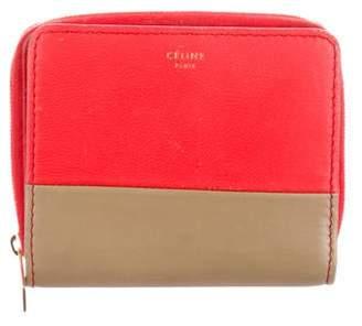 Celine Leather Colorblock Wallet