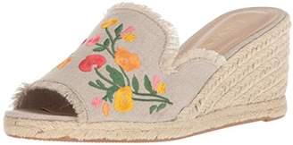 Lauren Ralph Lauren Women's CARLYNDA II Espadrille Wedge Sandal