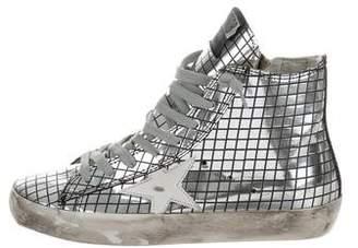 Golden Goose Metallic Francy Sneakers