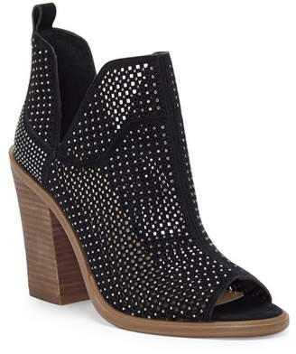 Vince Camuto Kimmini Open Toe Studded Bootie