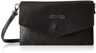 Kenneth Cole Reaction Cargo Flap Wallet On A String Cross Body Bag $58 thestylecure.com