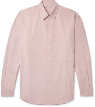 Auralee Washed Cotton-Twill Shirt