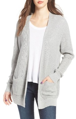 Women's Bp. Open Front Cotton Cardigan $49 thestylecure.com