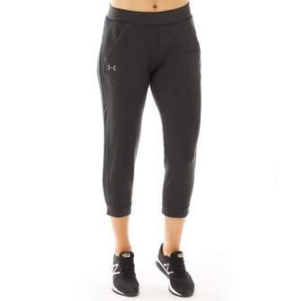 Under Armour Womens Featherweight Fleece Capri Sweat Pants Black