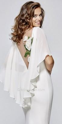 Tarik Ediz Echo Evening Dress $728 thestylecure.com
