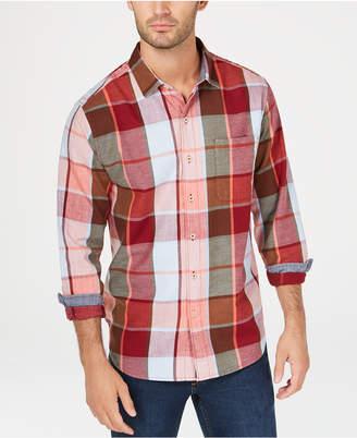 Tommy Bahama Men Heredia Yarn-Dyed Plaid Shirt