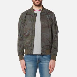 Tommy Hilfiger Men's Camo Bomber Jacket