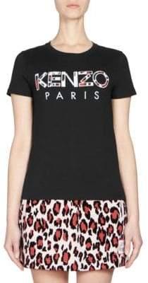 Kenzo Cotton Logo Tee