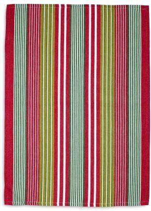 Sur La Table Holiday Striped Kitchen Towel