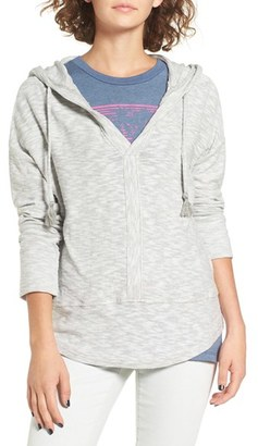 Roxy 'Good Vibrations' Split Neck Hoodie $44.50 thestylecure.com