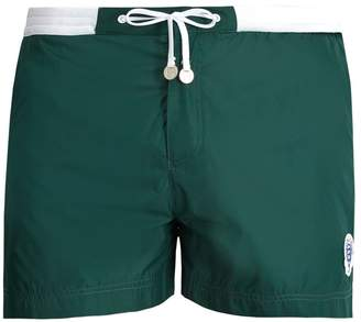 Wimbledon ROBINSON LES BAINS contrast-panel swim shorts