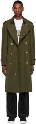 Burberry Khaki Westminster Heritage Trench Coat