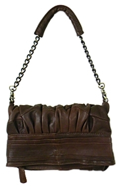 7Chi - Women's Brown Leather Mally Mini Shoulder Bag **3 Colors**
