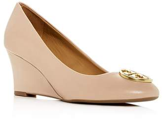 Tory Burch Women's Chelsea Wedge Pumps