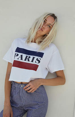 adidas John Galt Paris Cropped T-Shirt