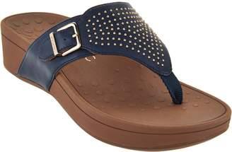 Vionic Platform Sandals w/Studs - Capitola