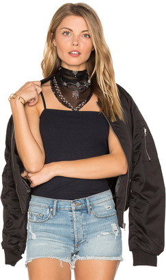 Michael Stars Embellished Bandit Triangle $26 thestylecure.com