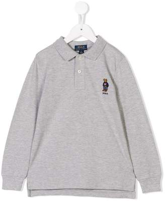 Ralph Lauren Kids longsleeved polo shirt