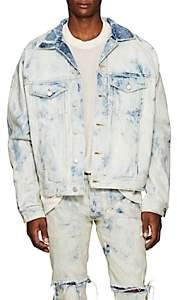 Fear Of God Men's Bleached Denim Jacket - Lt. Blue