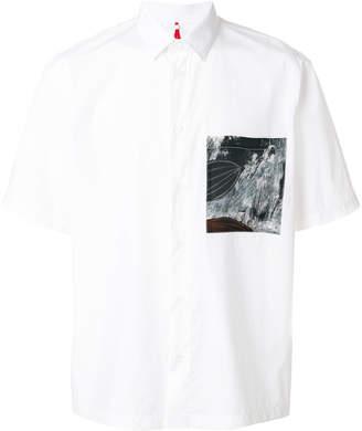 Oamc chest pocket shirt