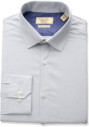 Original Penguin Men's Slim Fit Performance Houndstooth Dress Shirt
