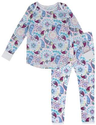 Cuddl Duds ClimateRight by Polycore Warm Layering Long Underwear (Toddler Girls)