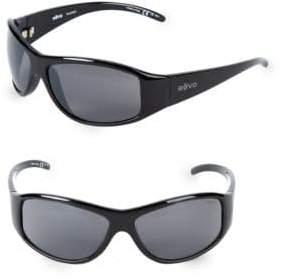 Revo 64MM Wrap Sunglasses