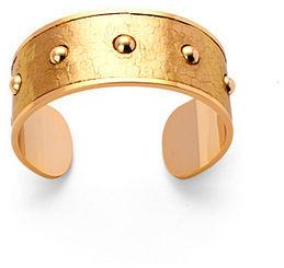 Athena Cuff Bracelet Gold Snakeskin