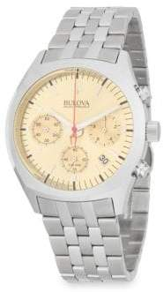 Bulova Surveyor Stainless Steel Bracelet Watch