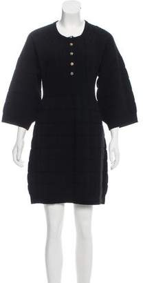 Chanel Mini Sweater Dress