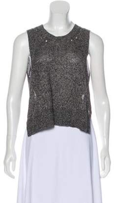 Alexander Wang Backless Knit Top Backless Knit Top