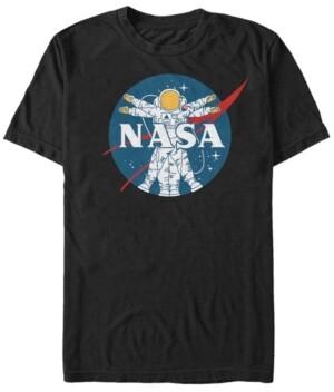 Nasa Men's Vitruvian Astronaut Short Sleeve T-Shirt