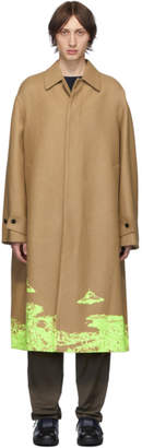 Valentino Tan Undercover Edition Time Traveller Coat
